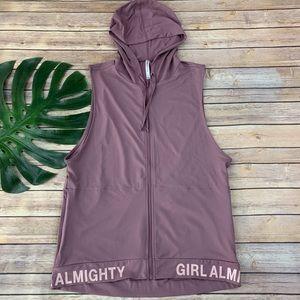 Fabletics 'girl almighty' Yukon tunic hoodie II